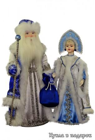 Куклы авторской работы сувенир на Новый год