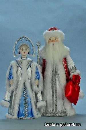 Куклы авторской работы русский подарок под елку