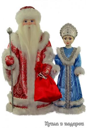 Новогодние сувениры Дед мороз и Снегурочка