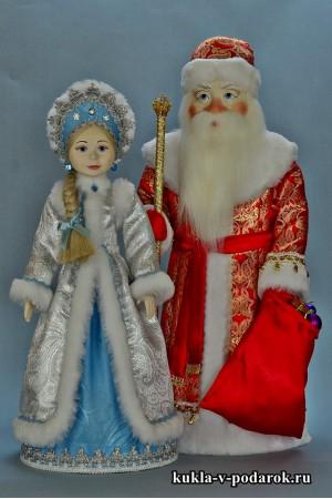 Подарки на Новый год новогодние куклы сувенир из Москвы