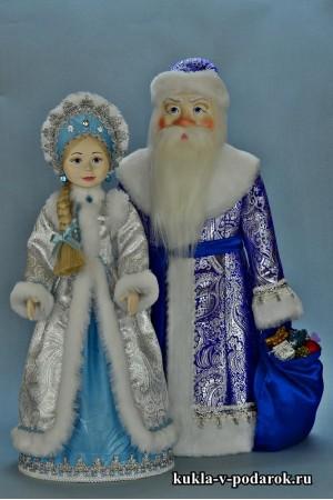 Подарки на Новый год куклы сувенир ручной работы