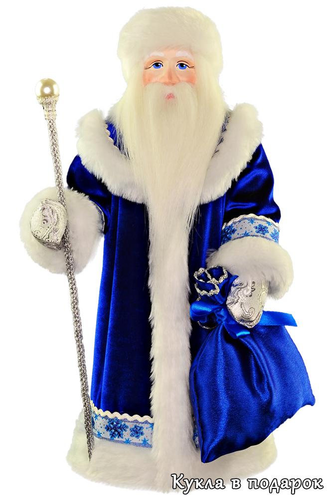Кукла Дед Мороз из СССР