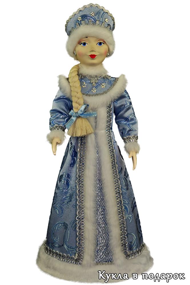 Снегурочка в подарок в голубом наряде