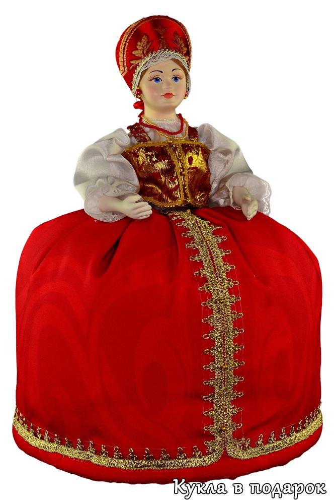 Русская кукла на чайник
