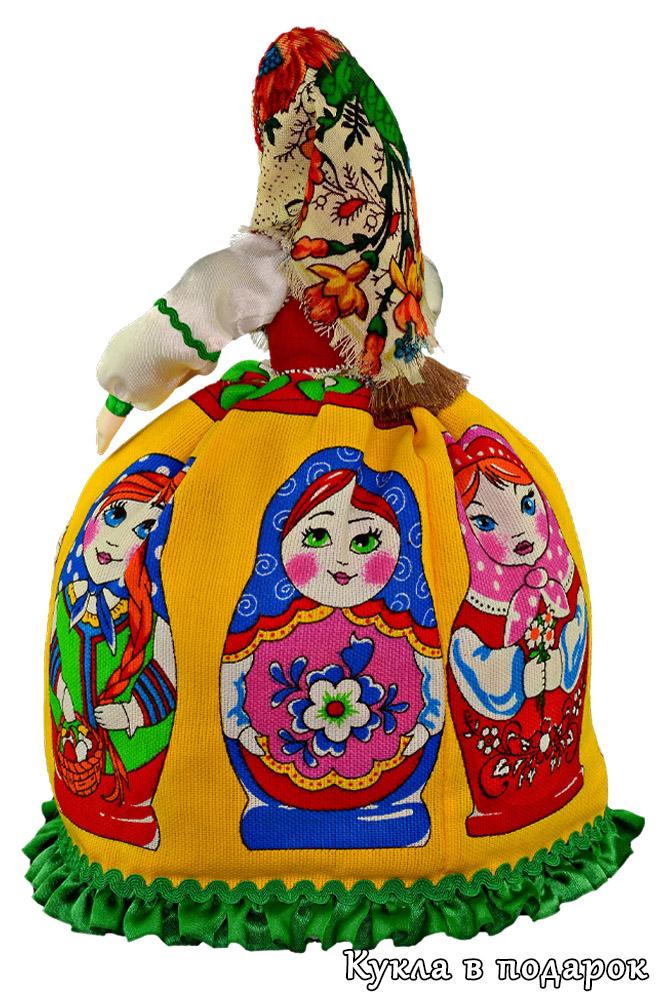 Кукла грелка русская матрешка