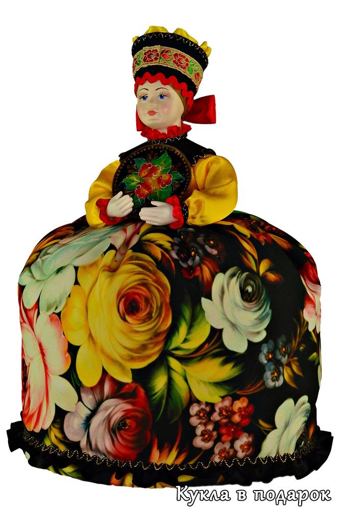 Авторская жостовская кукла ручной работы