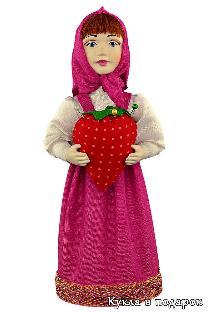 Кукла игольница подарок девочке