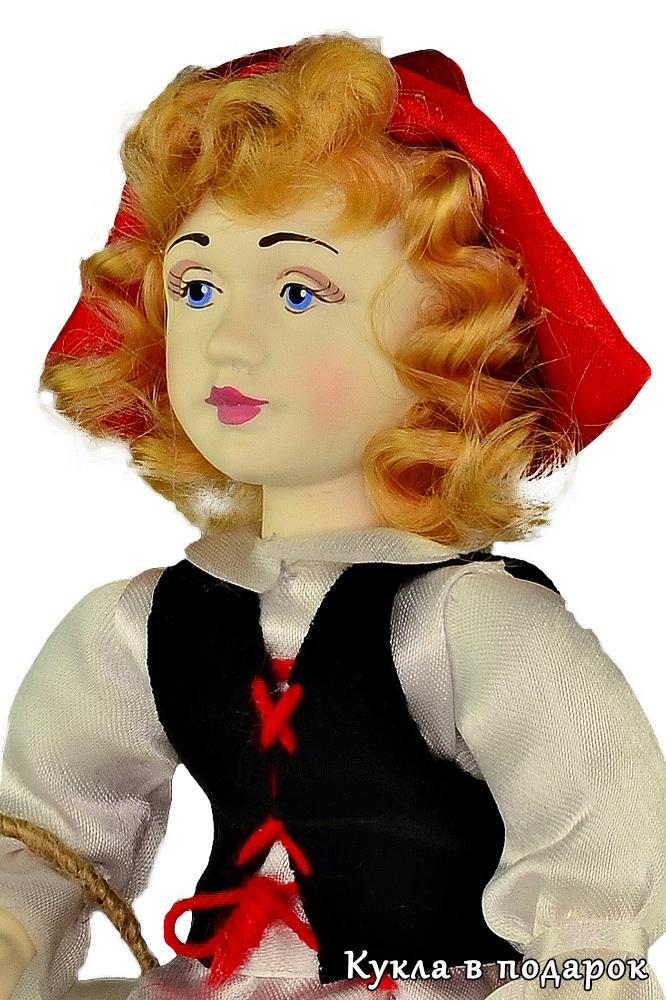 Кукла игольница Красная Шапочка