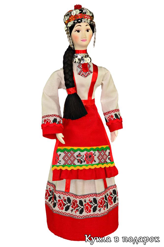 Кукла женщина Чувашии