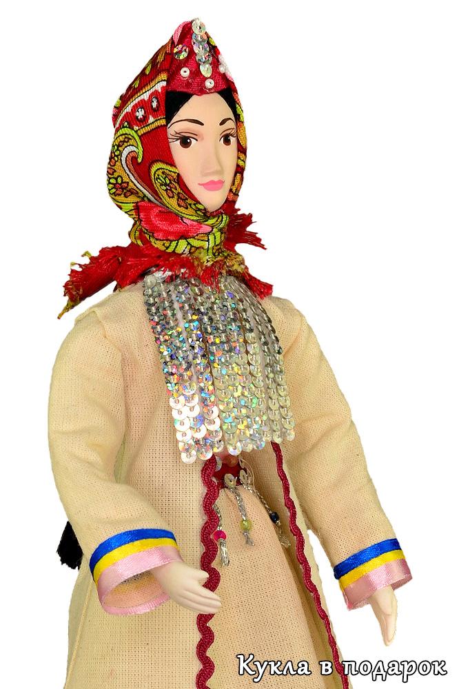 Кукла марийская женщина