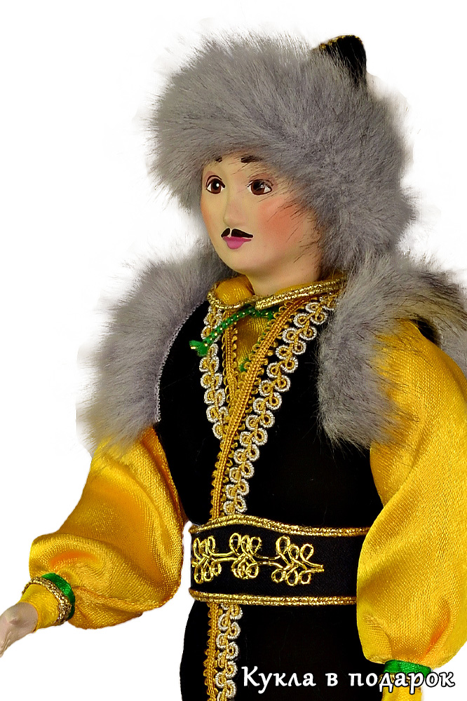 Красивые башкирские куклы в национальном костюме