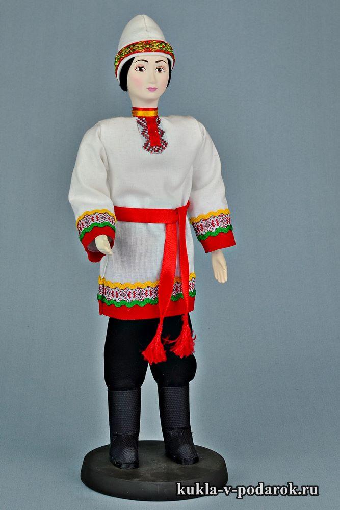Кукла в чувашской одежде