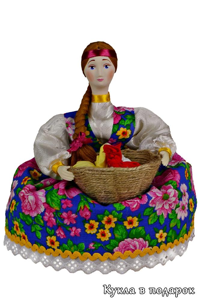 Ароматная кукла кубышка с лечебными травами