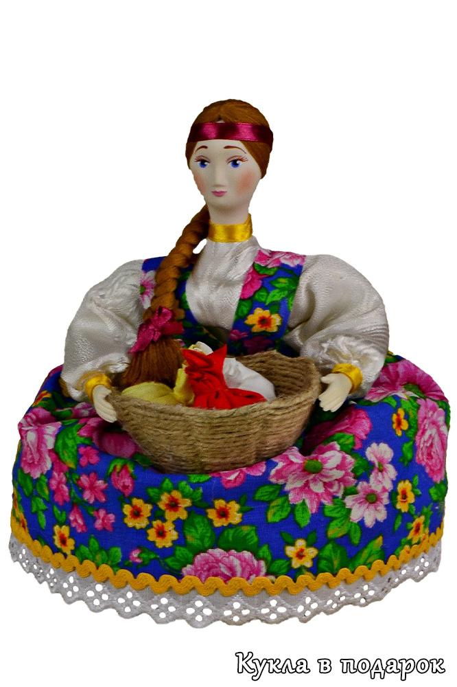 Русская кукла травница