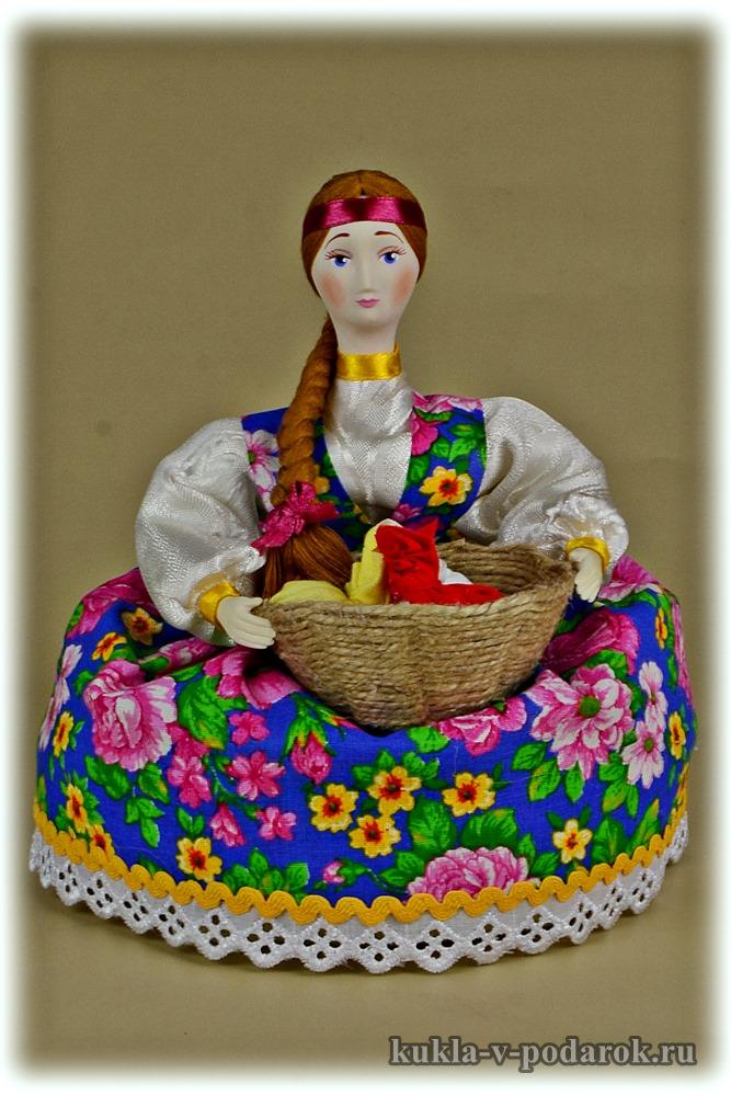 Русский подарок кукла кубышка травница