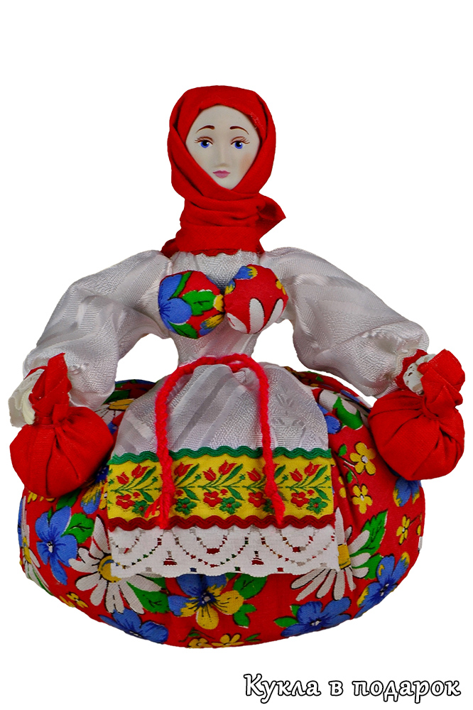 Русская кубышка травница народная кукла