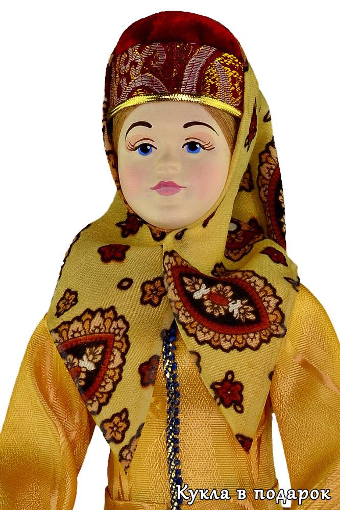 Кукла в вологодской национальной одежде