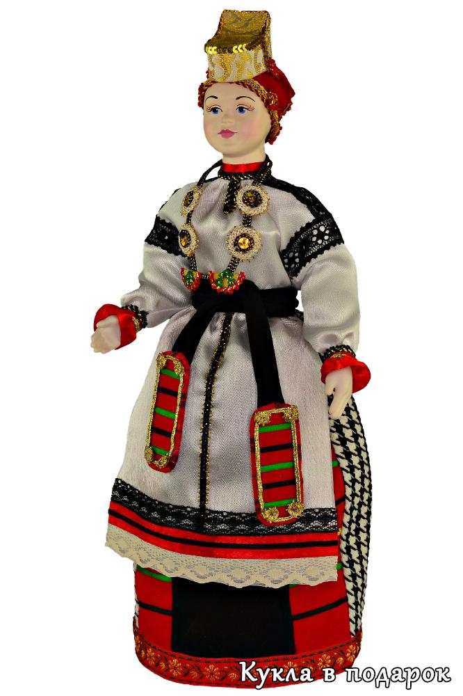 Русский сувенир кукла в национальном костюме