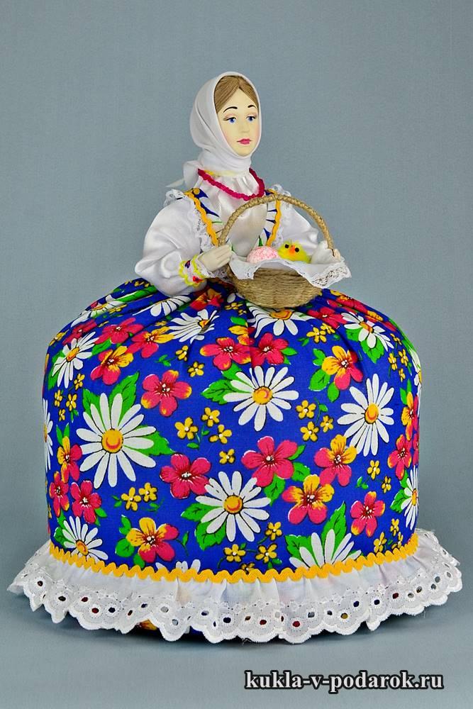 Подарок на Пасху кукла ручной работы
