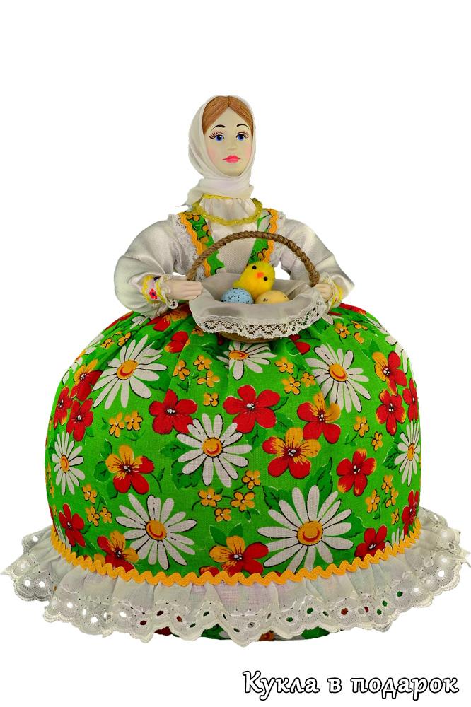 Подарок на Пасху русская кукла