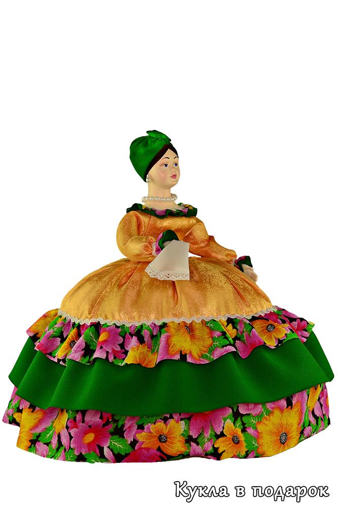 Купчиха кукла грелка в русском стиле