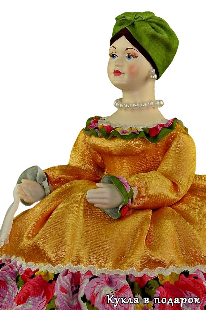 Кукла Купчиха кукла грелка на чайник