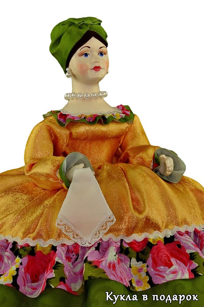 Русская Купчиха кукла грелка