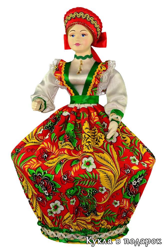 Кукла русская шкатулка в подарок