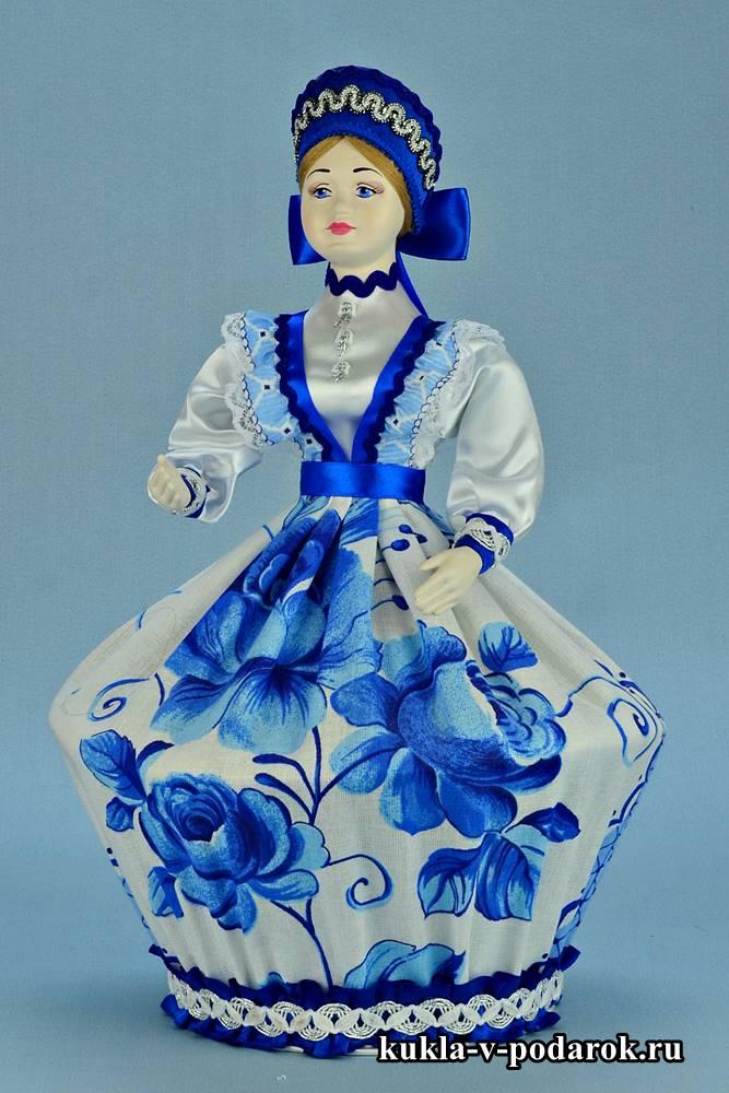 Кукла шкатулка ручной работы