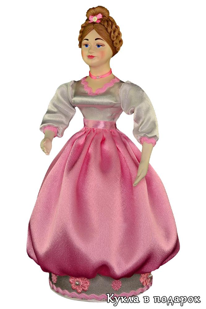 Красивая кукла шкатулка в подарок