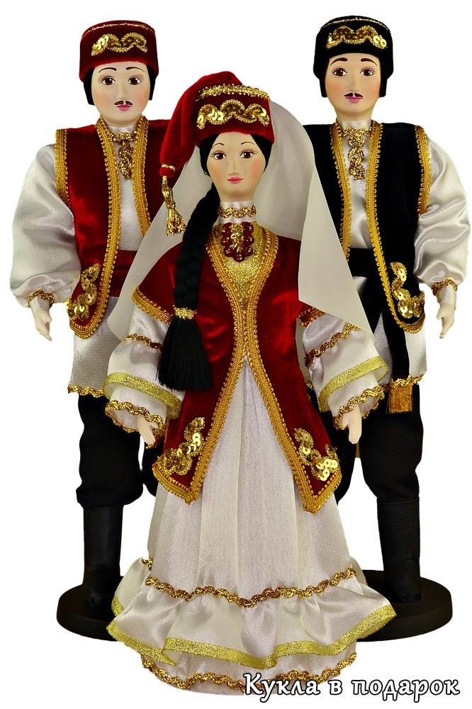 Сувенирные татарские куклы