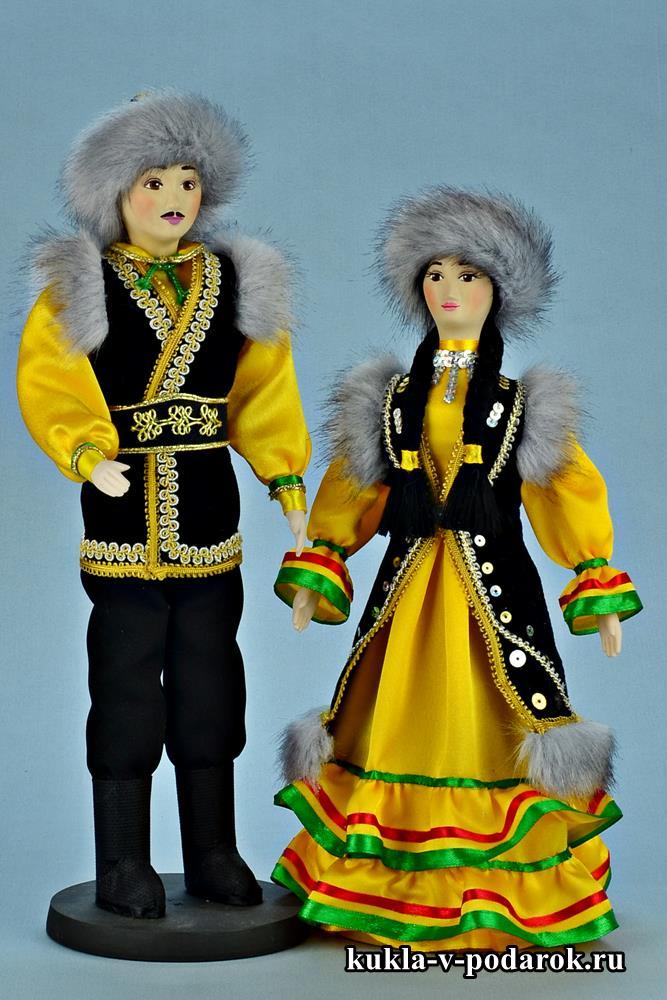 Красивые коллекционные башкирские куклы