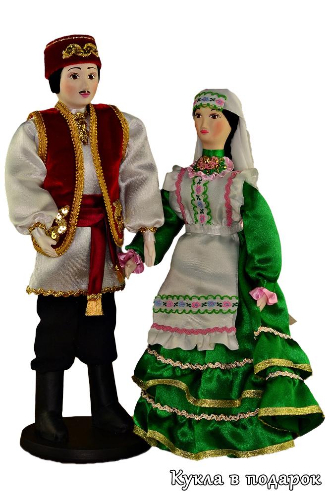 Татарские куклы в народных костюмах