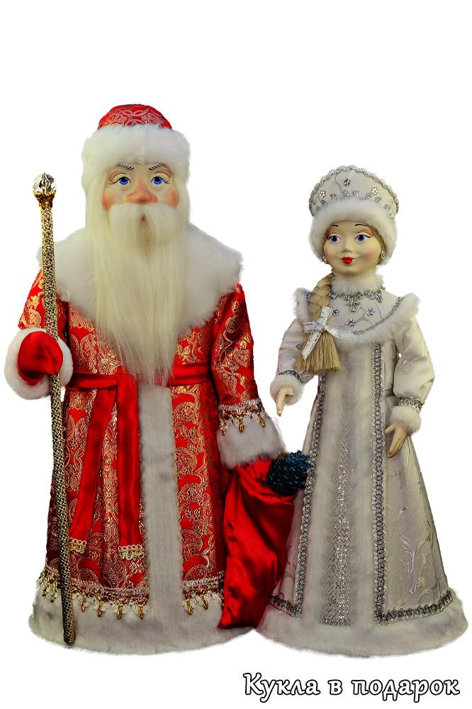 Новогодние куклы ручной работы в подарок