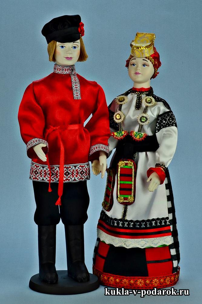 Русские народный куклы