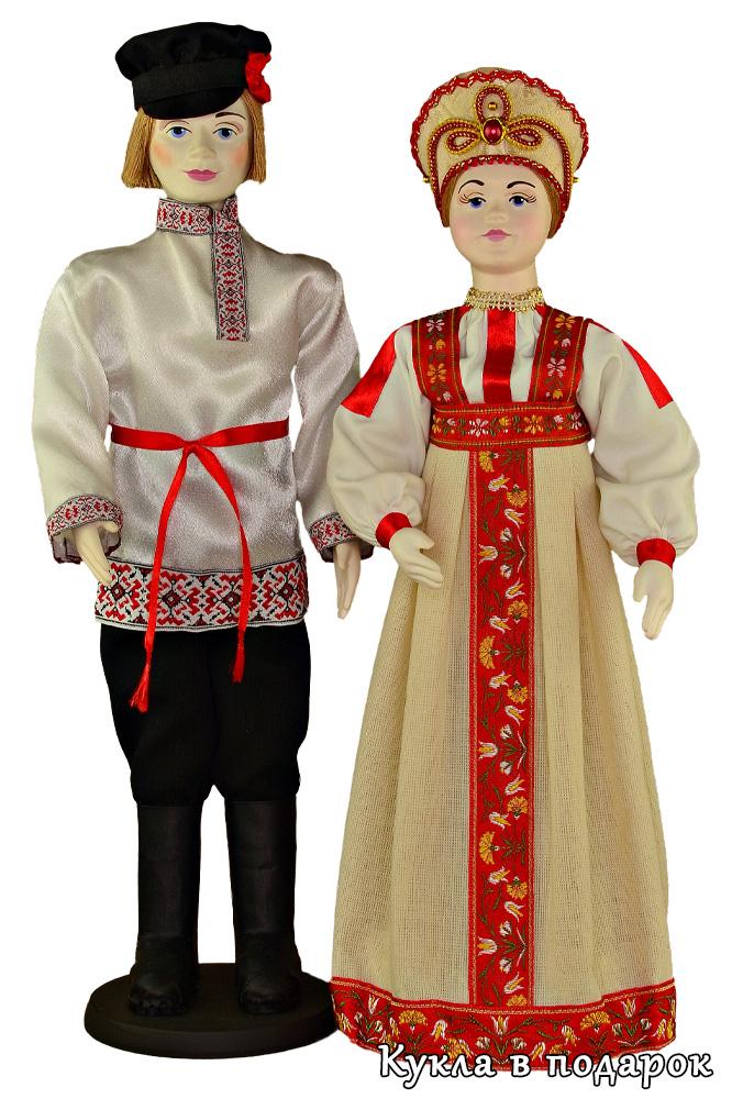 Куклы в русском народном костюме